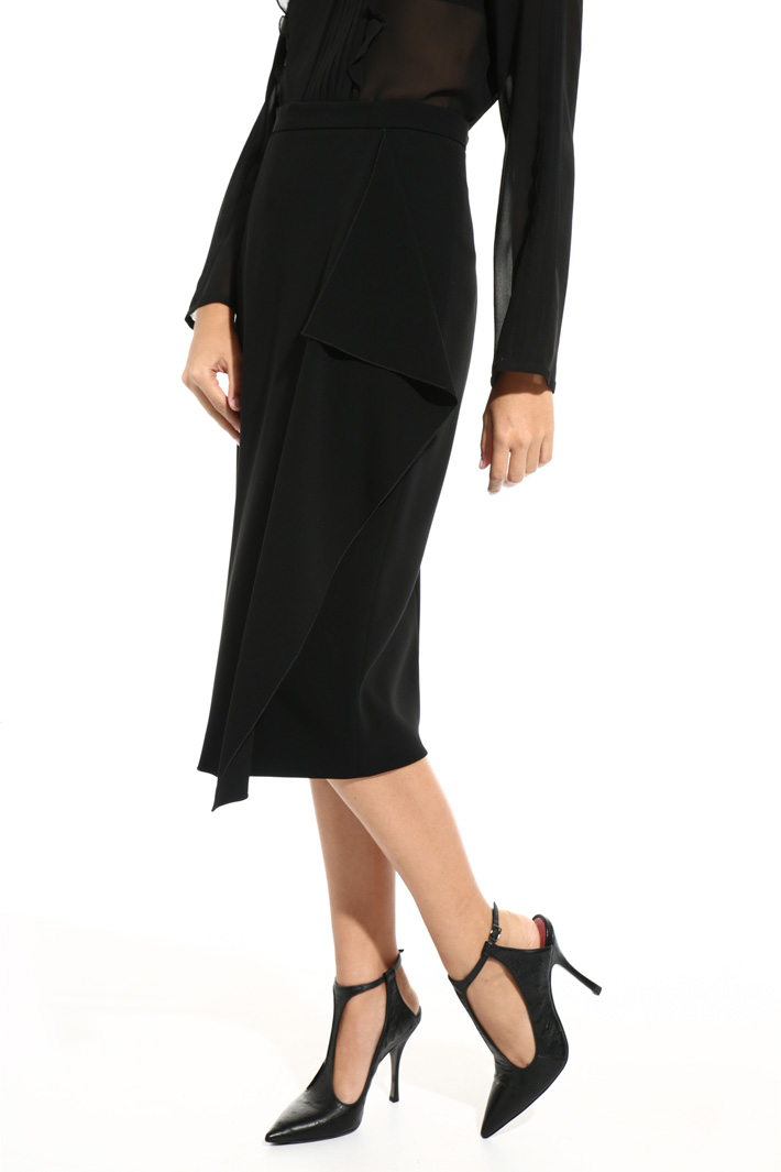 Triacetate skirt Intrend