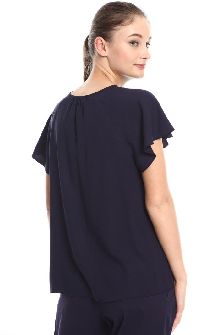Crepe viscose blouse Intrend