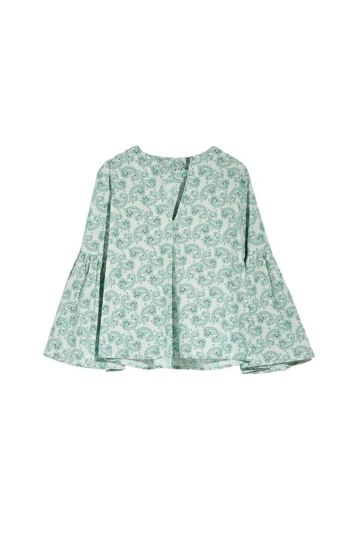 Cotton poplin blouse Intrend