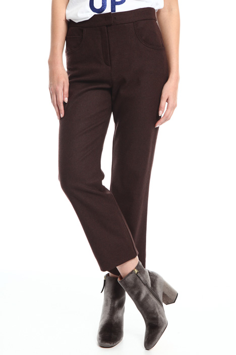 Pantaloni cropped Intrend