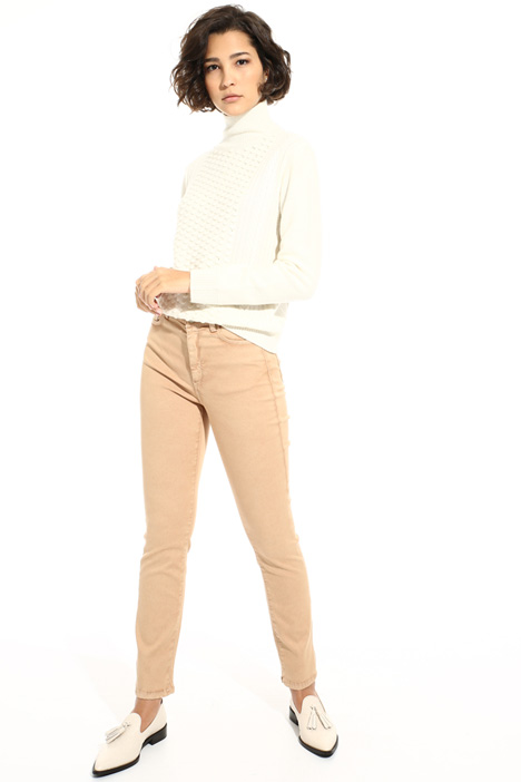 Cotton skinny trousers Intrend