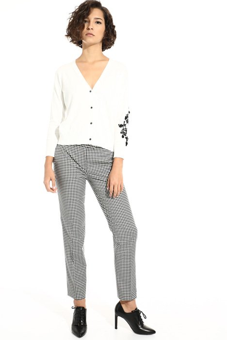 Wool and cotton trousers Intrend