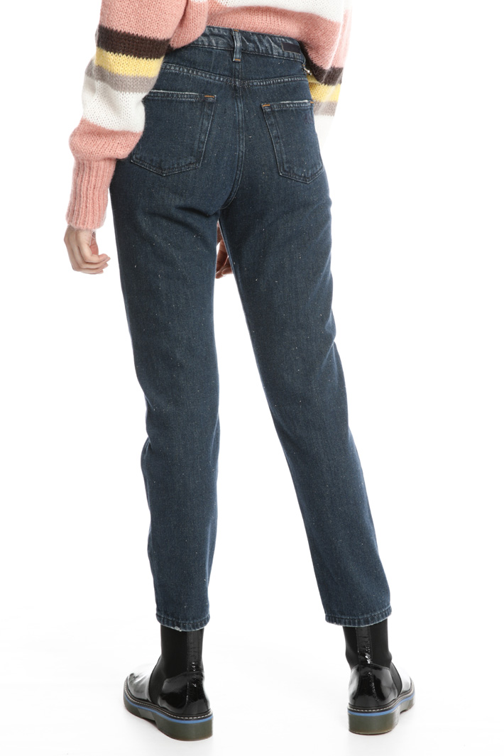 Cigarette denim trousers Intrend