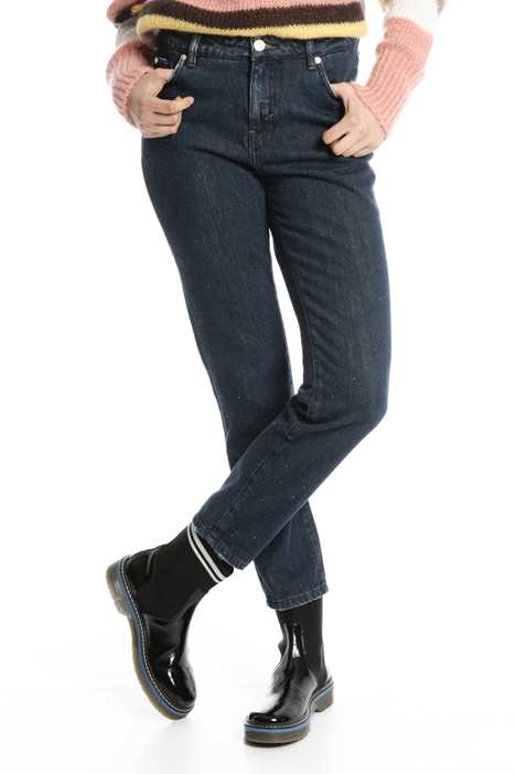 Cigarette denim trousers Intrend