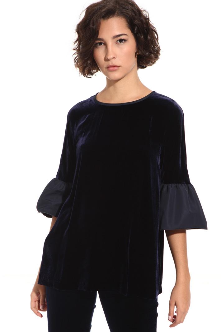 Velvet tunic Intrend