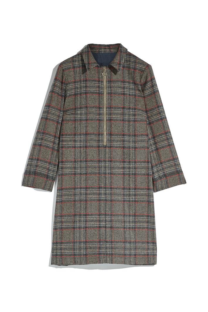 Wool chemisier dress Intrend