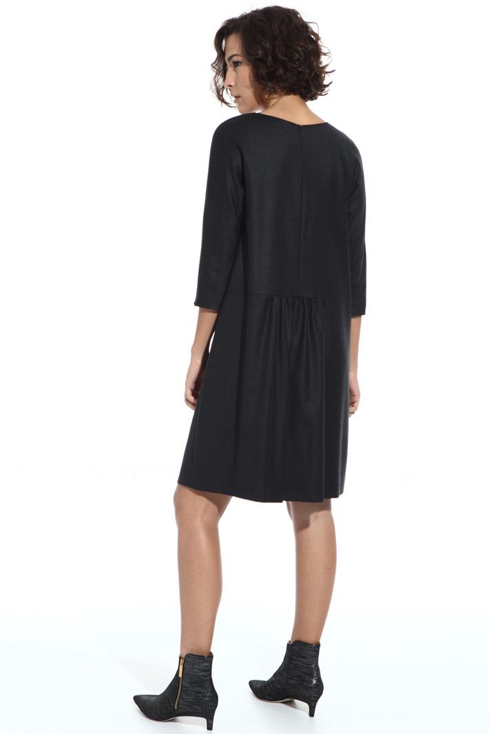 Short wool dress Intrend