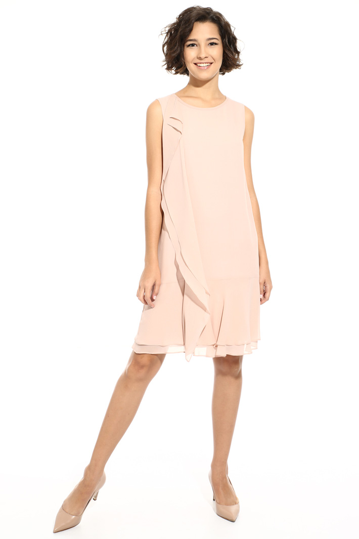 Sleeveless silk dress Intrend