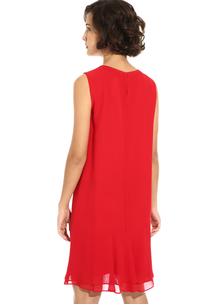 Sleeveless silk dress Intrend