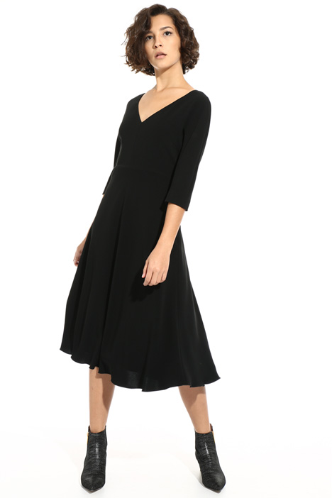 Triacetate midi dress Intrend