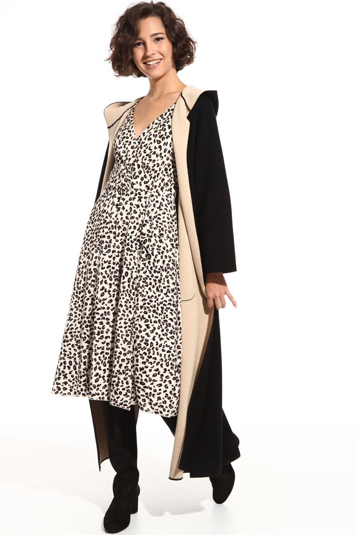 Long pure wool cardigan Intrend