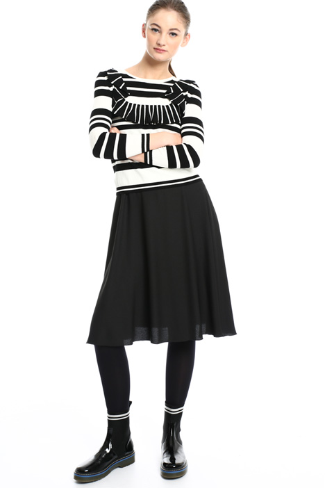 Sweater overlay dress Intrend