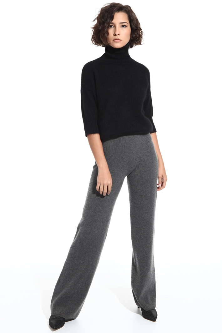 Wool and cashmere trousers Intrend