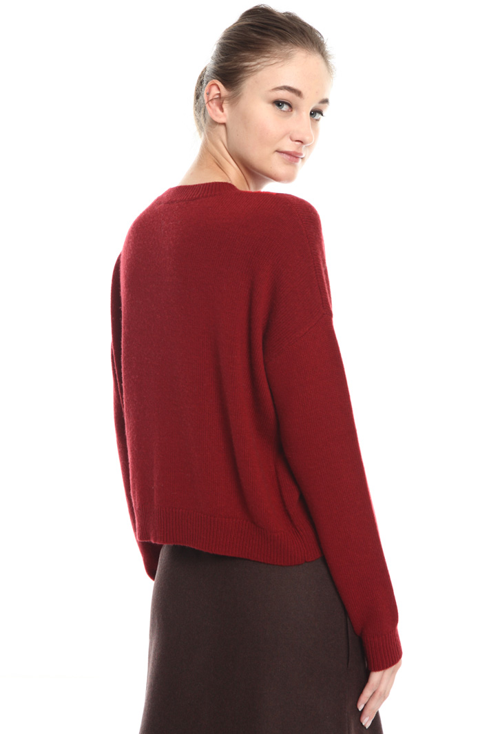 Viscose and wool sweater Intrend