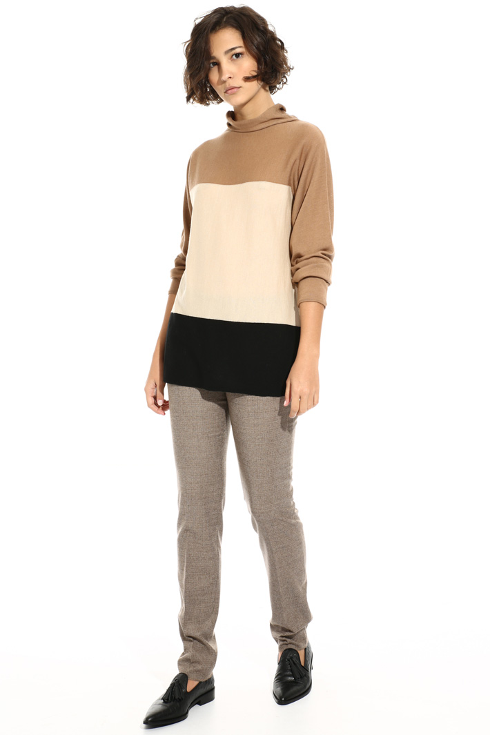 High neck sweater Intrend