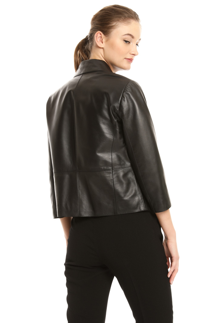 Scalloped collar jacket Intrend