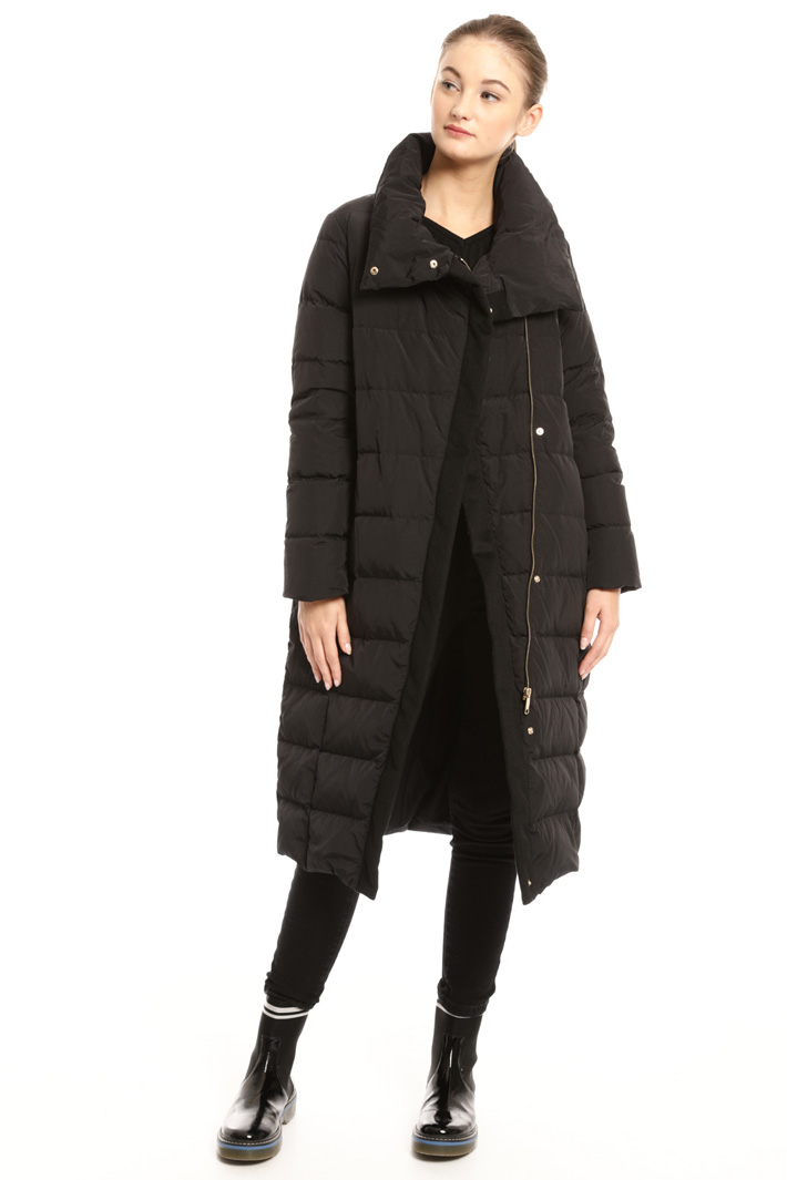 Long high neck down coat Intrend