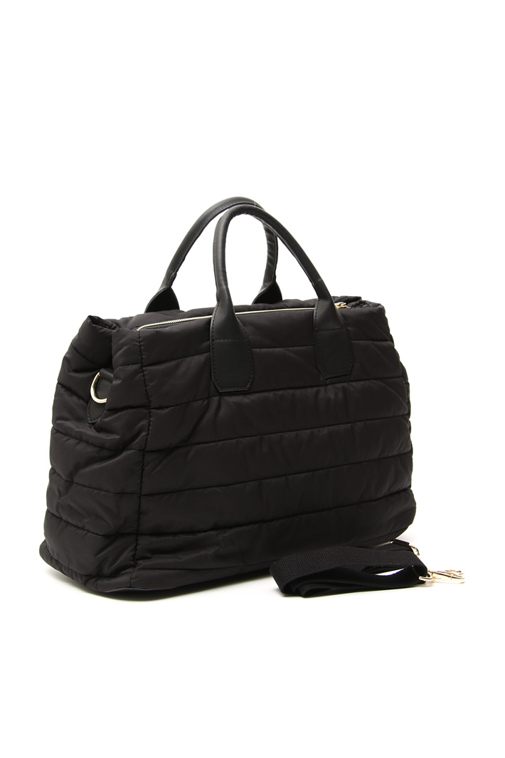Quilted maxi shopper bag Intrend