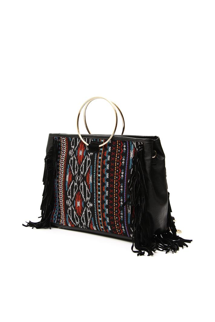 Jacquard shopping bag Intrend