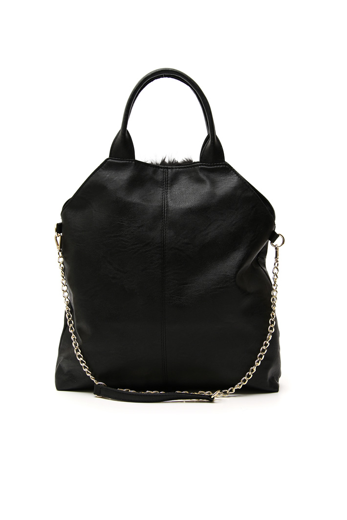 Leather effect bag Intrend