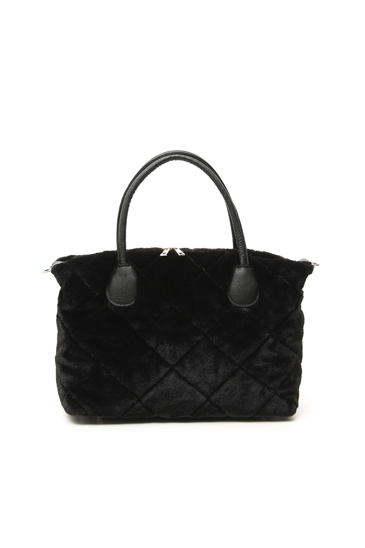 Fur-effect bag Intrend
