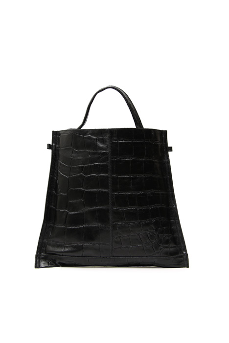 Shopping bag in pelle Intrend