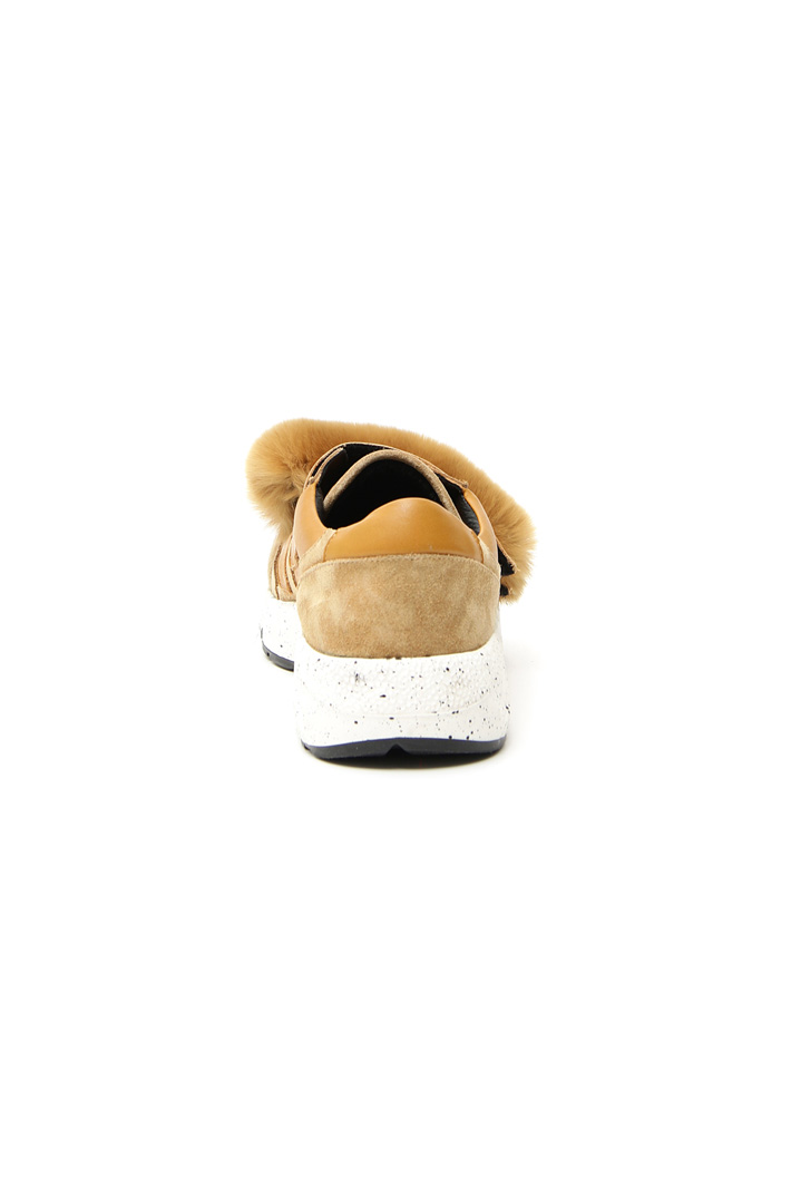 Fur strap sneakers Intrend