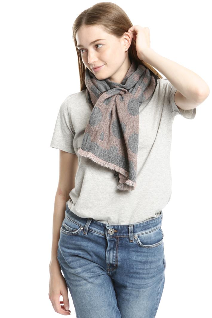 Polka dot scarf Intrend