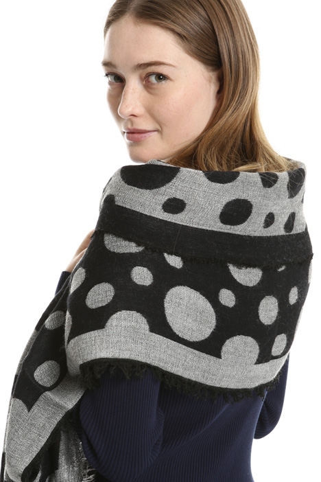 Polka dot scarf Intrend