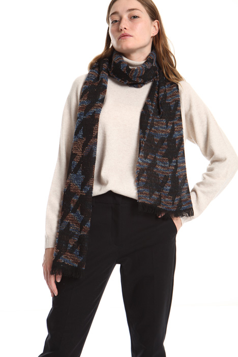 Wool blend foulard Intrend