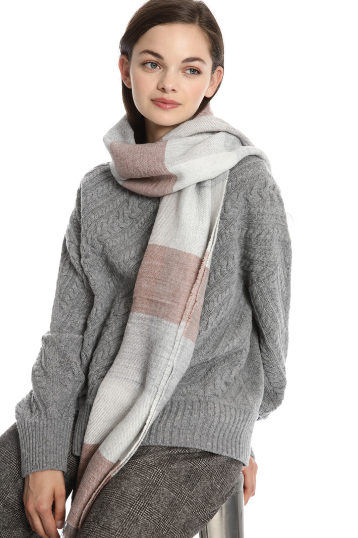 Soft wool and alpaca scarf Intrend
