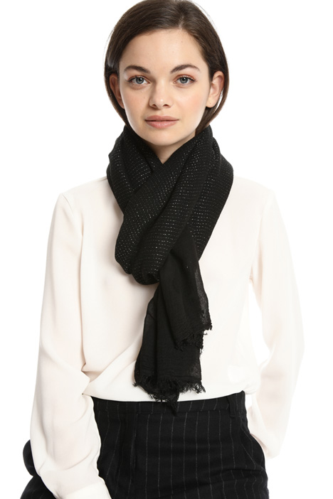 Soft lurex scarf Intrend