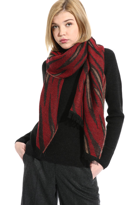 Wool blend scarf Intrend