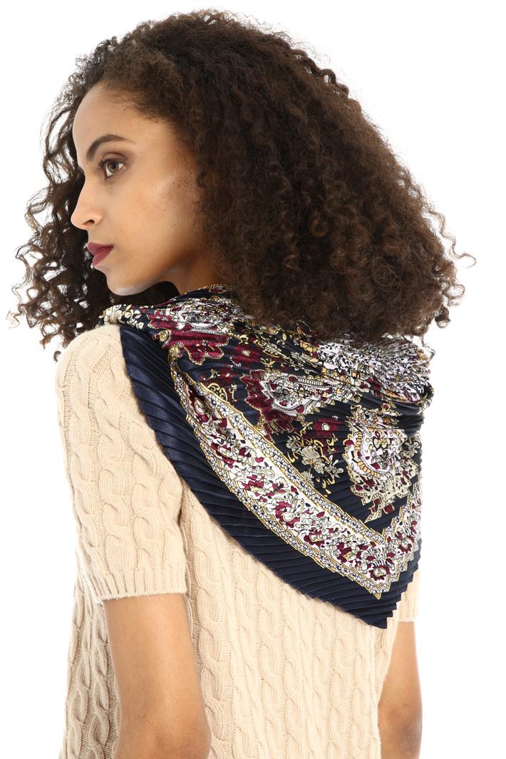 Pure viscose foulard Intrend