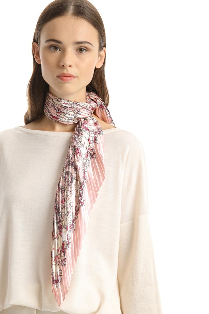 Printed satin foulard Intrend