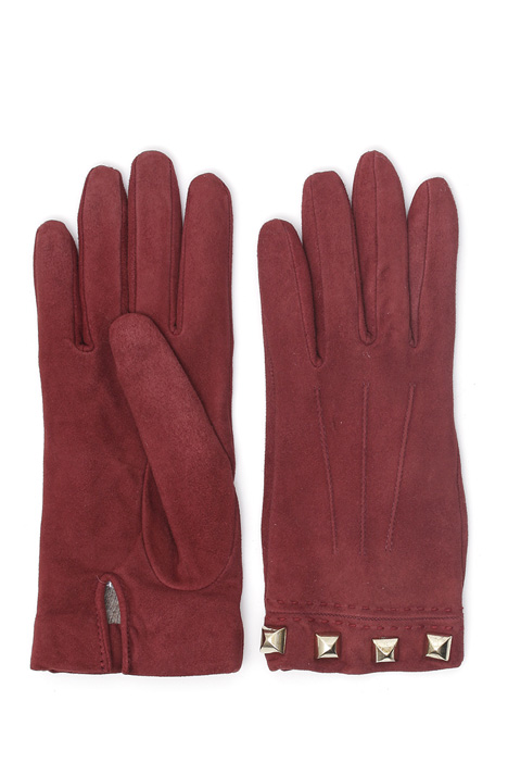 Suede leather gloves Intrend