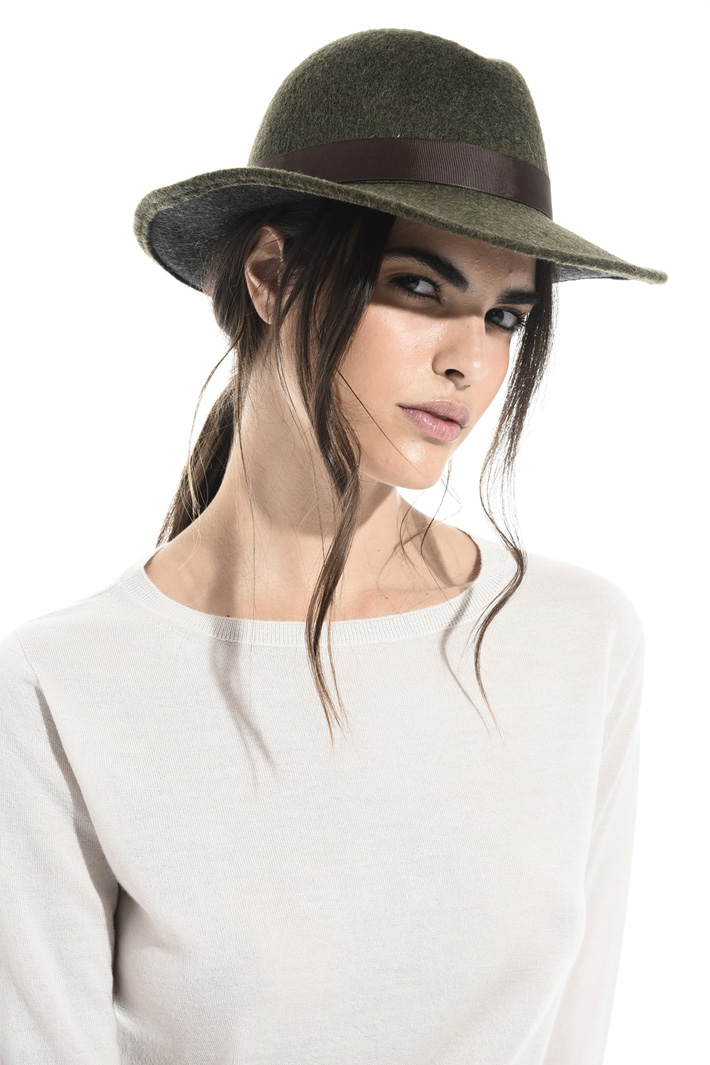 Grosgrain ribbon hat Intrend