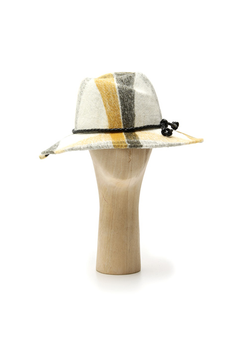 Patterned fedora Intrend