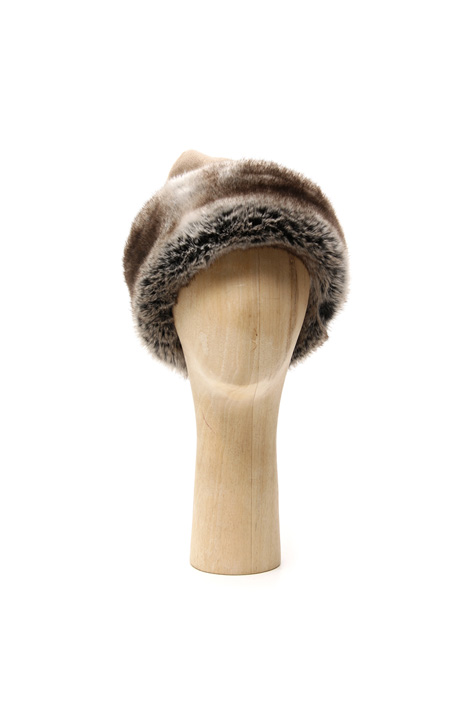 Fur-effect hat Intrend