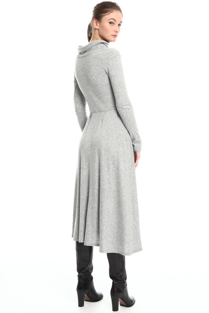 Wool blend jersey dress Intrend