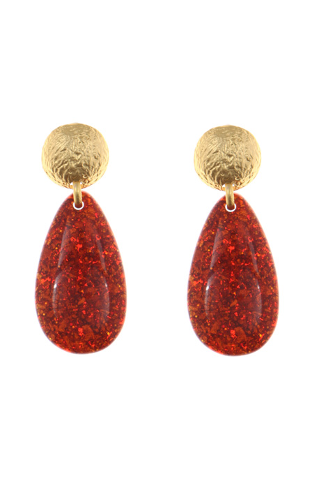 Resin earrings Intrend