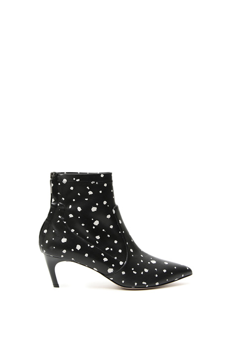 Leather-effect ankle-boots Intrend