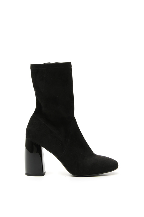 Suede-effect ankle-boots Intrend