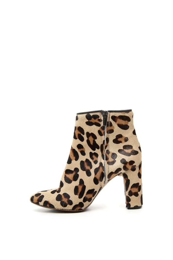 Animalier print ankle-boots Intrend