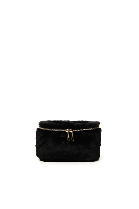 Fur-effect belt bag Intrend