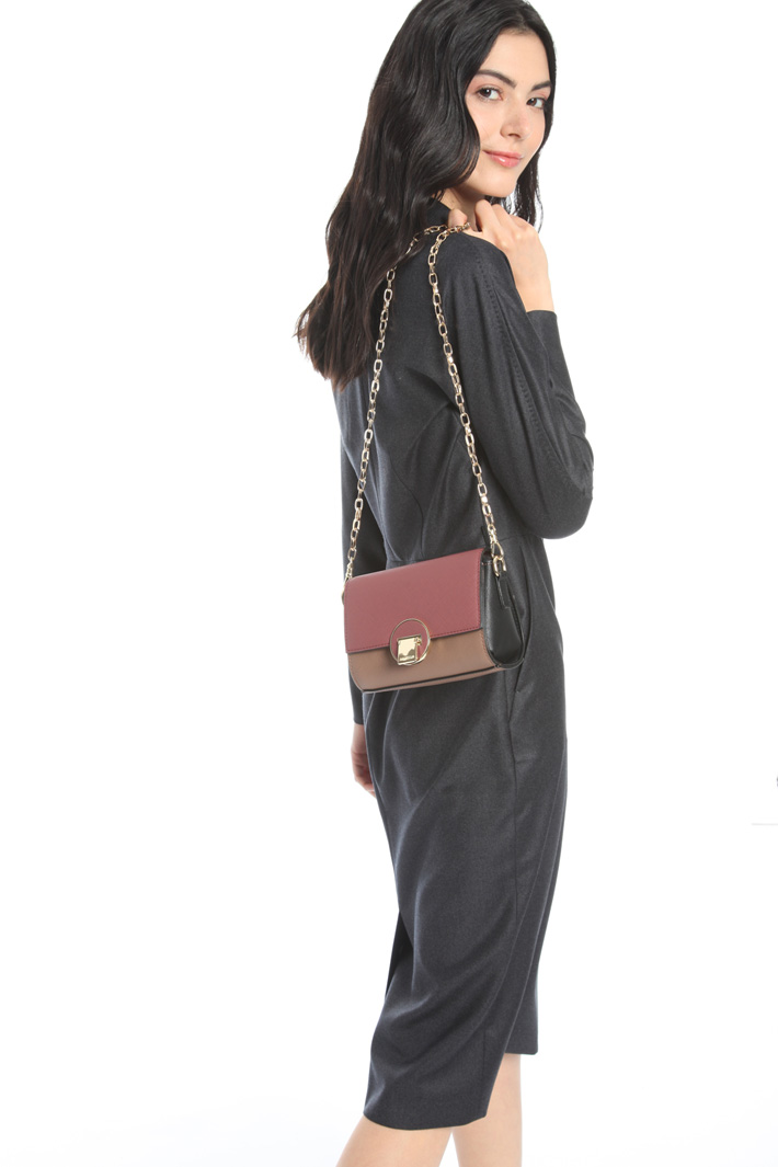 Bag with interchangeable flaps Intrend