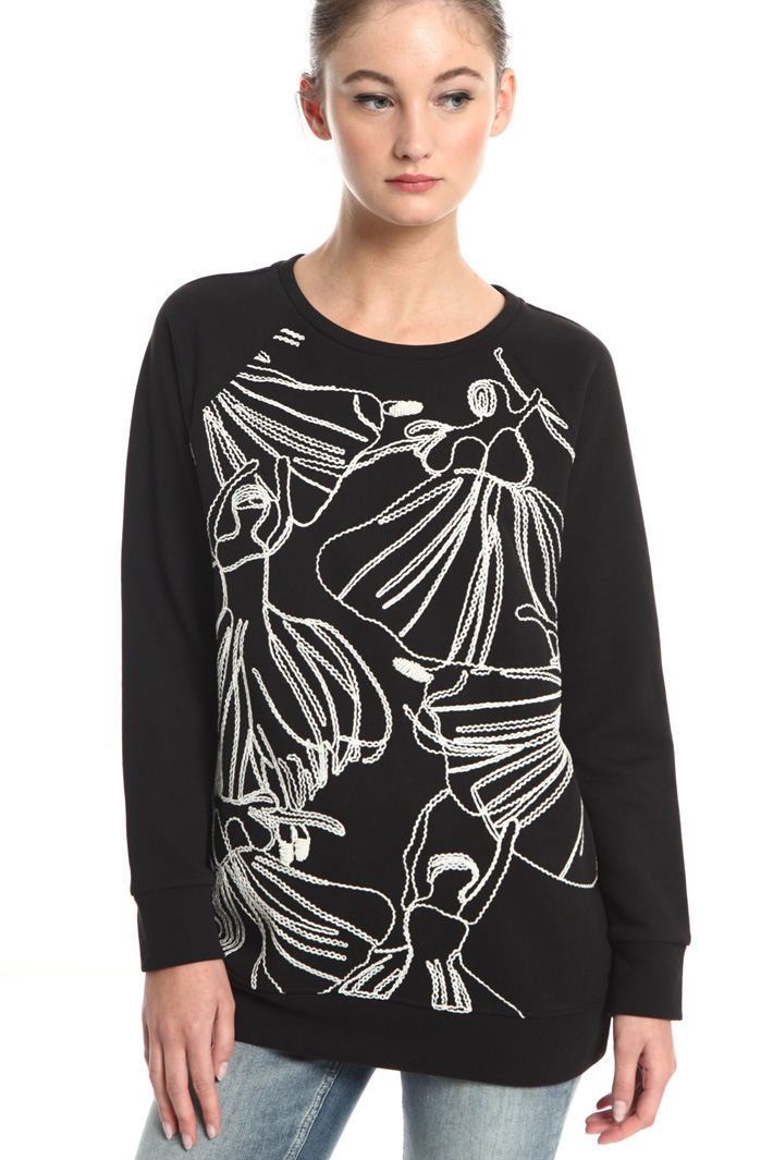 Embroidered sweatshirt Intrend