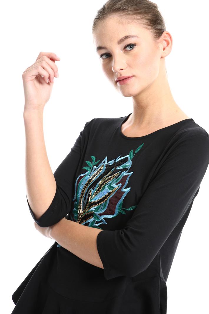 Flounced T-shirt Intrend