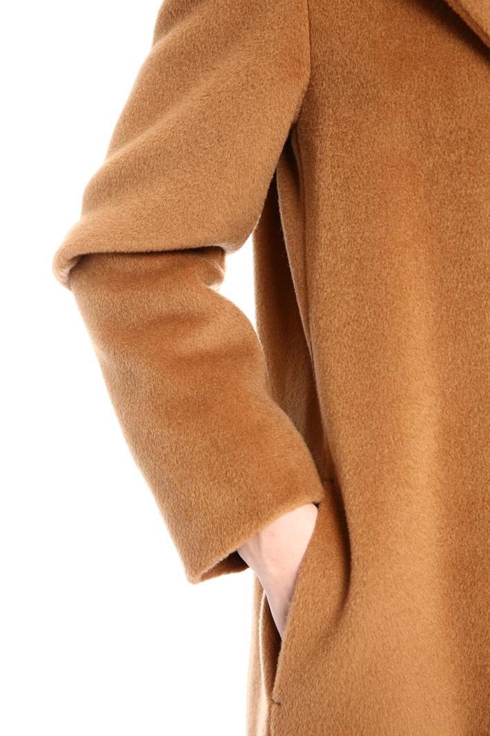 Beaver wool coat Intrend