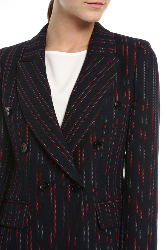Yarn-dyed blazer Intrend